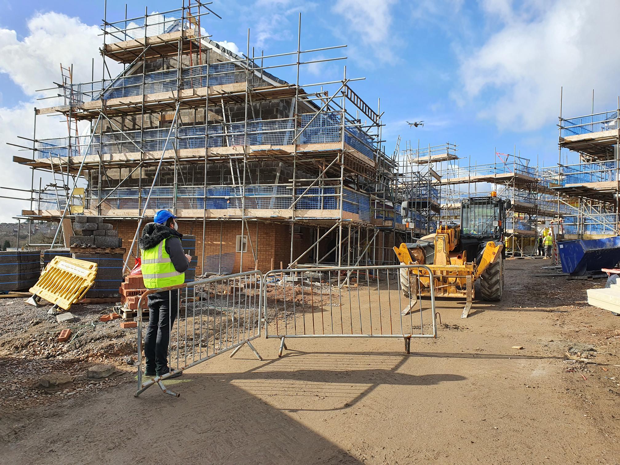 Cwm Ifor site progress